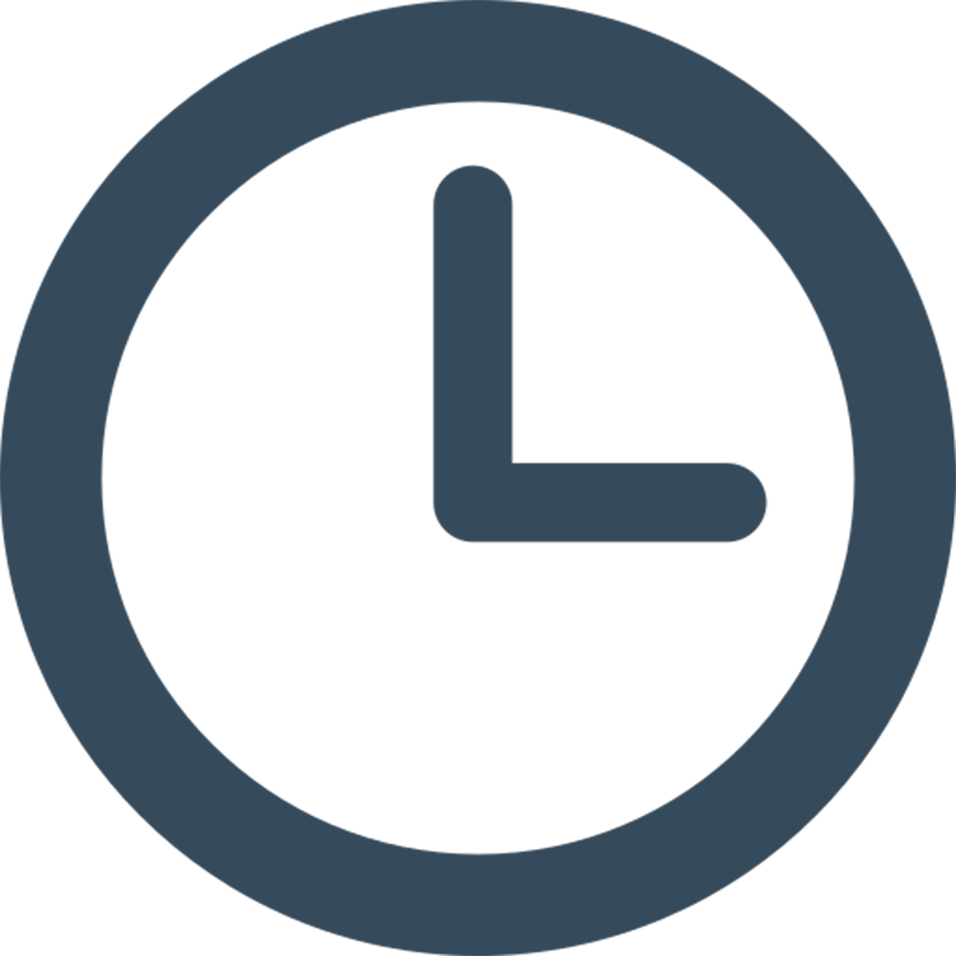 Time filter icon