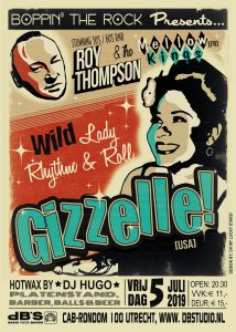 GIZZELLE (USA – Wild Records) + Roy Thompson & the Mellow Kings (Fr)