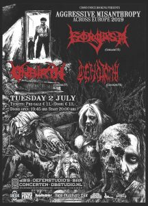 Gorgasm (US) + Unbirth (It) + Cenotaph (Turkey)