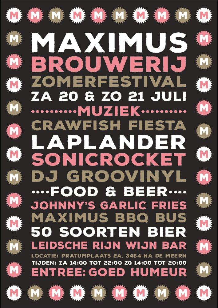 Brouwerij Maximus Zomer festival What's Live Live muziek Utrecht