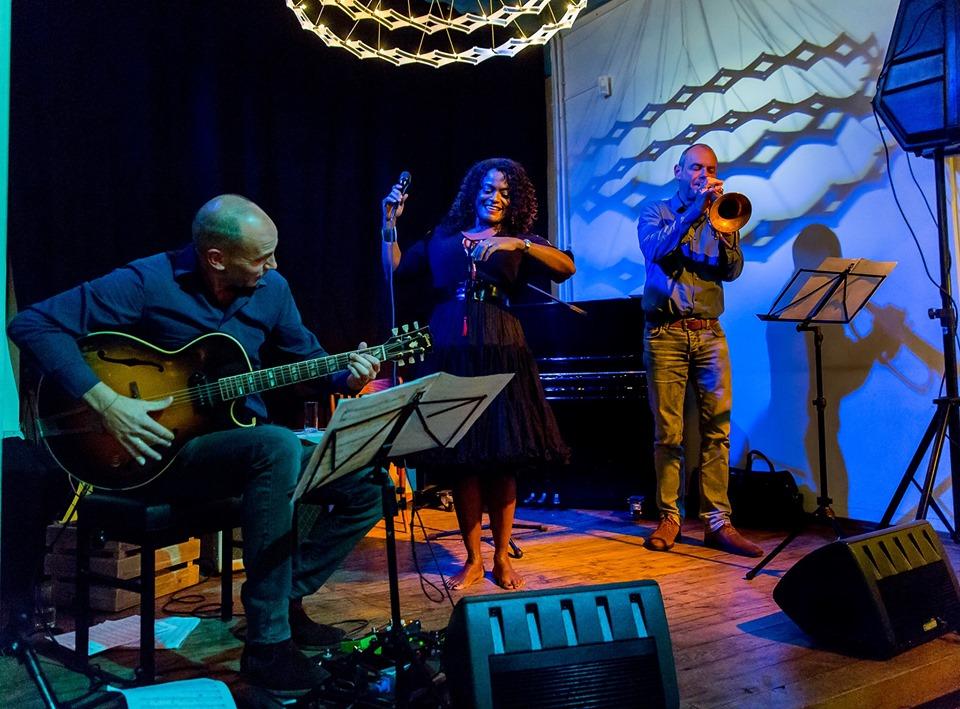 Izaline Calister, Ed Verhoeff & Angelo Verploegen