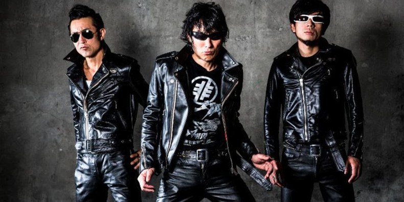 Guitar Wolf and G.O.D
