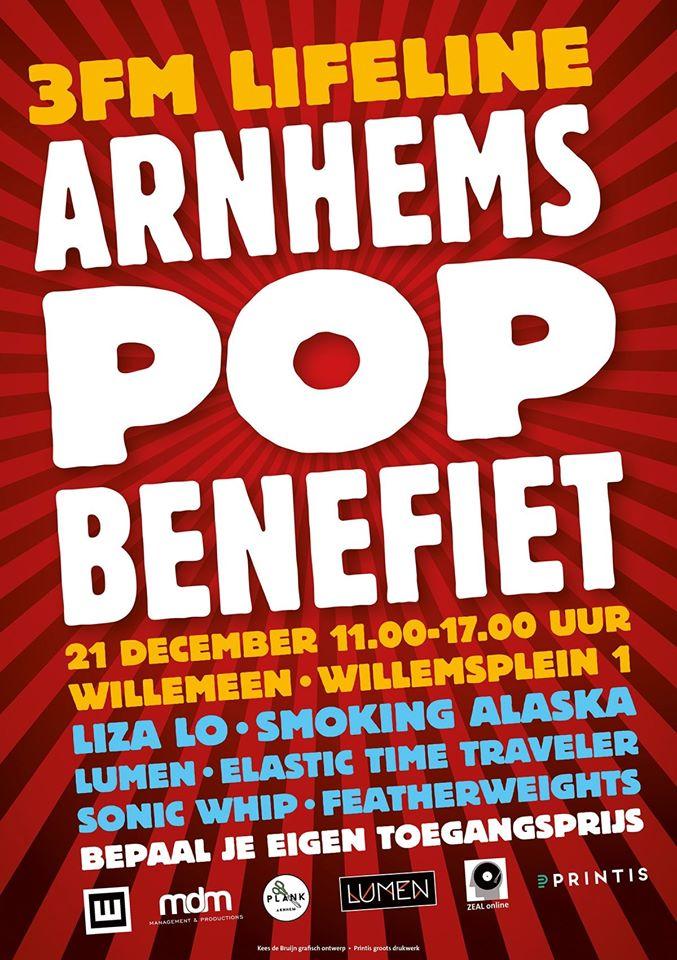 3FM Lifeline, Arnhems Popbenefiet