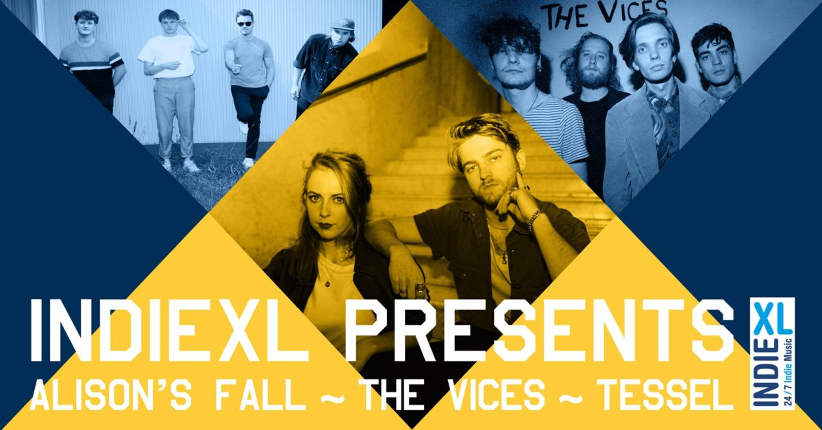 IndieXL presents: Alison's Fall – The Vices – Tessel